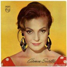 Disques de vinyle: CARMEN SEVILLA - FLAMENCA YEYÉ - TYPICAL SPANISH - SINGLE PHILIPS 1965 . Lote 136476274