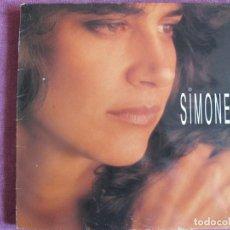 Discos de vinilo: LP - SIMONE - SIMONE (SPAIN, CBS/SONY 1991). Lote 136479578
