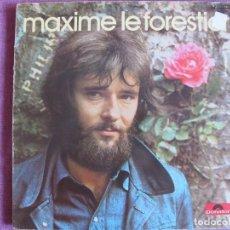 Discos de vinilo: LP - MAXIME LE FORESTIER - MISMO TITULO (FRANCE, POLYDOR 1972, PORTADA DOBLE). Lote 136479794