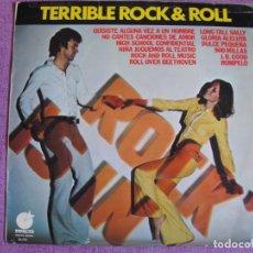 Discos de vinilo: LP - TERRIBLE ROCK AND ROLL - VARIOS (VER FOTO ADJUNTA) (SPAIN, DISCOS IMPACTO 1975). Lote 136480946