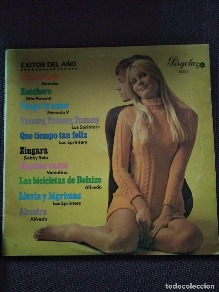 EXITOS DEL AÑO PERGOLA RECORDS 1969 LP - 10 PULGADAS. LOS SPRINTERS... (Música - Discos de Vinilo - EPs - Otros estilos)