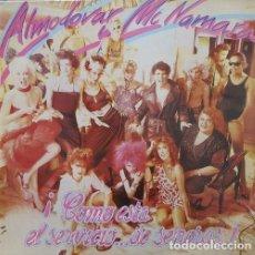 Discos de vinilo: ALMODOVAR Y MCNAMARA COMO ESTA EL SERVICIO DE SEÑORAS - LP DE VINILO COMPLETO. Lote 136500026