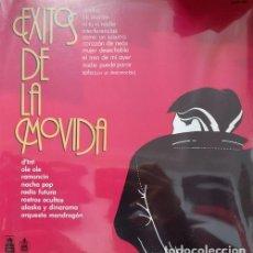 Discos de vinilo: EXITOS DE LA MOVIDA MADRILEÑA LP MEXICANO PROMOCIONAL OLE OLE ALASKA DINARAMA NACHA POP RADIO FUTURA. Lote 136500794