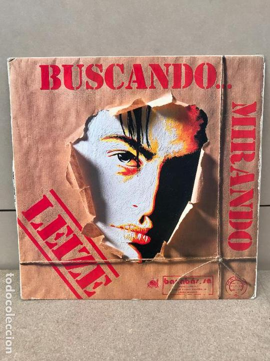 LEIZE BUSCANDO MIRANDO LP BARRABAS SPAIN 1989 HEAVY METAL HARD ROCK (Música - Discos - LP Vinilo - Heavy - Metal)