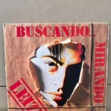 Discos de vinilo: LEIZE BUSCANDO MIRANDO LP BARRABAS SPAIN 1989 HEAVY METAL HARD ROCK. Lote 136521870