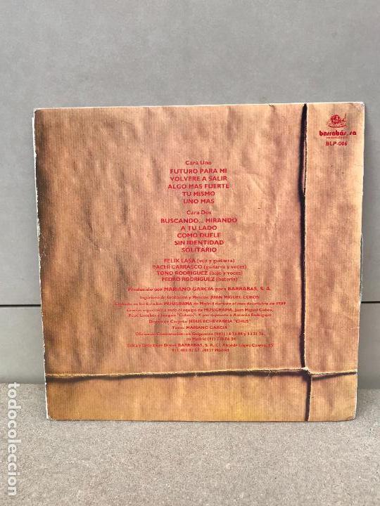 Discos de vinilo: LEIZE BUSCANDO MIRANDO LP BARRABAS SPAIN 1989 HEAVY METAL HARD ROCK - Foto 2 - 136521870