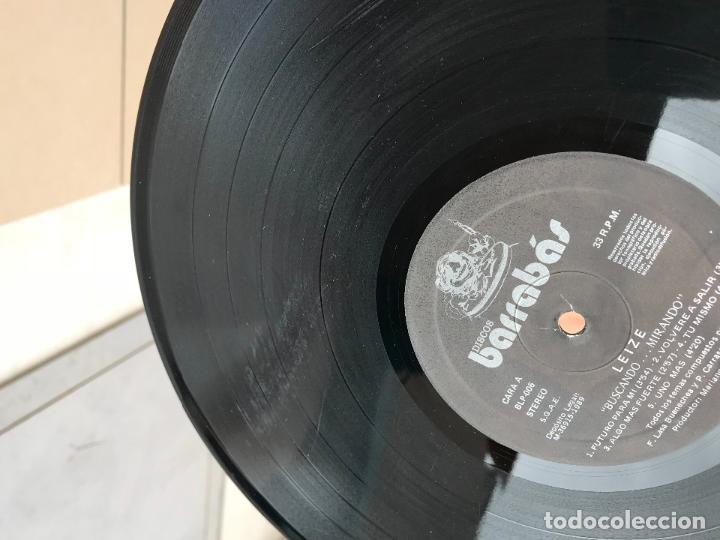 Discos de vinilo: LEIZE BUSCANDO MIRANDO LP BARRABAS SPAIN 1989 HEAVY METAL HARD ROCK - Foto 4 - 136521870
