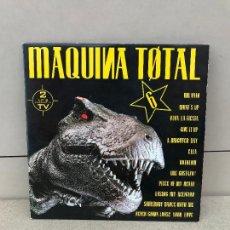 Discos de vinilo: MÁQUINA TOTAL 6 - DOBLE LP MAX MUSIC SPAIN 1993. Lote 136521994