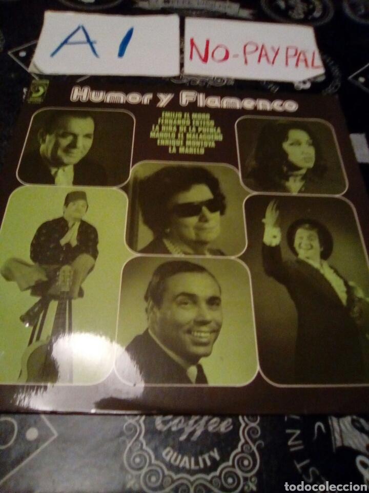 HUMOR Y FLAMENCO INEDITO EN TC , EMILIO EL MORO, FERNANDO ESTESO,LA NIÑA DE LA PUEBLA,LA MARELU.... (Música - Discos - LP Vinilo - Flamenco, Canción española y Cuplé)