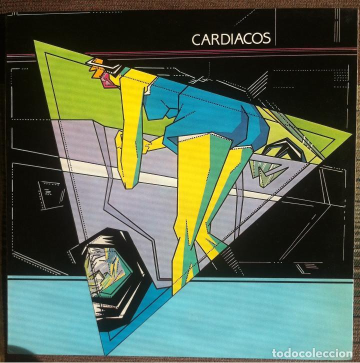 CARDIACOS. OBSESION - LP - DRO 1984 EDICIÓN ESPAÑOLA EX (Música - Discos de Vinilo - Maxi Singles - Grupos Españoles de los 70 y 80)