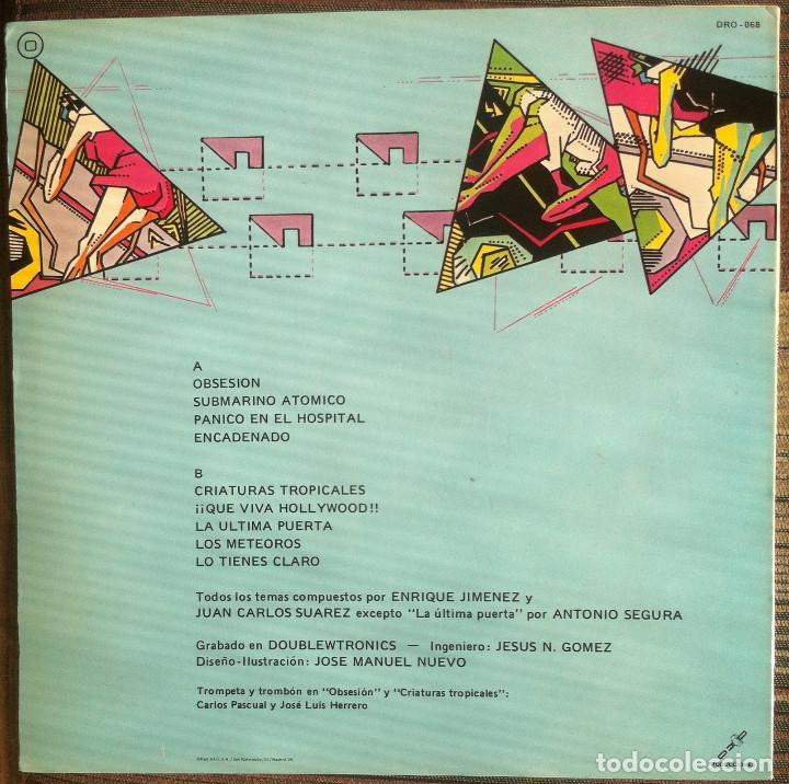 Discos de vinilo: Cardiacos. Obsesion - LP - DRO 1984 Edición española EX - Foto 2 - 136523966