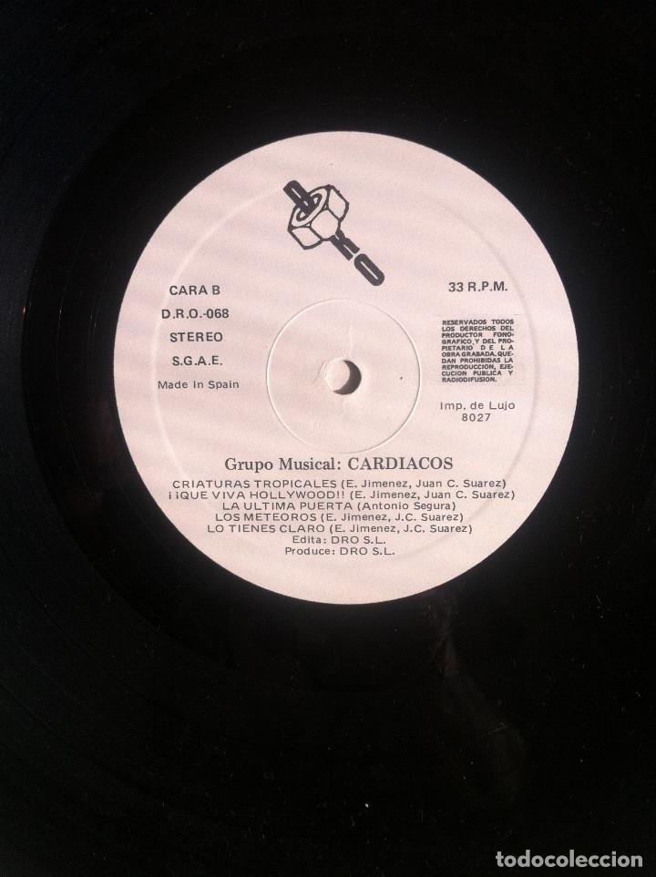 Discos de vinilo: Cardiacos. Obsesion - LP - DRO 1984 Edición española EX - Foto 5 - 136523966