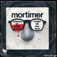 Discos de vinilo: MORTIMER. GENERAL IDI AMIN DADA. COMO UN DIA MAS. BELTER 1978. ORIGINAL. VINILO BUEN ESTADO. Lote 136534558