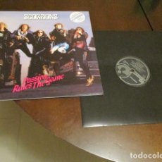 Discos de vinilo: SCORPIONS - MAXISINGLE - PASSION RULES THE GAME - SAVAGE AMUSEMENT - PORTADA DOBLE. Lote 136541154