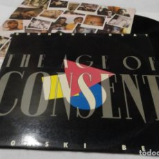 Discos de vinilo: BRONSKI BEAT-THE AGE OF CONSENT- LP 1984 - LONDON. Lote 136546158