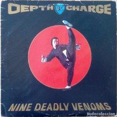 Discos de vinilo: DEPTH CHARGE : NINE DEADLY VENOMS [UK 1994] 12'X2/1ST EDITION. Lote 136557946