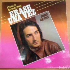 Discos de vinilo: LP NINO BRAVO / ERASE UNA VEZ EDITADO POR POLYDOR 1985. Lote 136558698