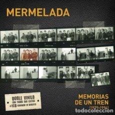 Discos de vinilo: LP-MERMELADA/ MEMORIAS DE UN TREN (1979-1994) -2LP+CD- NUEVO PRECINTADO. Lote 136559658