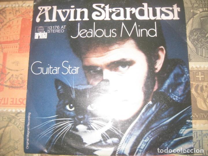 ALVIN STARDUST ( GUITAR STAR - JEALOUS MIND ) (-1974 ARIOLA) EDITADO ALEMANIA LEA DESCRIPCION (Música - Discos - Singles Vinilo - Pop - Rock - Internacional de los 70)