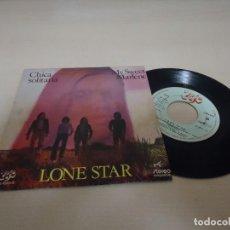 Discos de vinilo: LONE STAR -CARA A CHICA SOLITARIA -CARA B MY SWEET MARLENE -EKIPO- BCN- 1972- . Lote 136584302