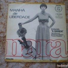 Discos de vinilo: LP. NARA. MANHA DE LIBERDADE. AÑO 1966. Lote 136587198