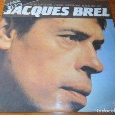 Discos de vinilo: JACQUES BREL - DOBLE LP. Lote 136589678