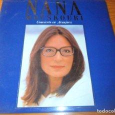Discos de vinilo: NANA MOUSKOURI, CONCIERTO EN ARANJUEZ - DOBLE LP. Lote 136590086