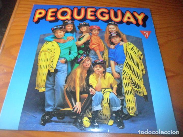 PEQUEGUAY - LP 1992 (Música - Discos - LP Vinilo - Grupos Españoles de los 90 a la actualidad)