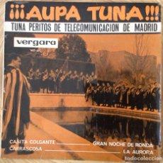Discos de vinilo: TUNA PERITOS TELECOMUNICACION DE MADRID AUPA TUNA EP AÑO 1964. Lote 136599498