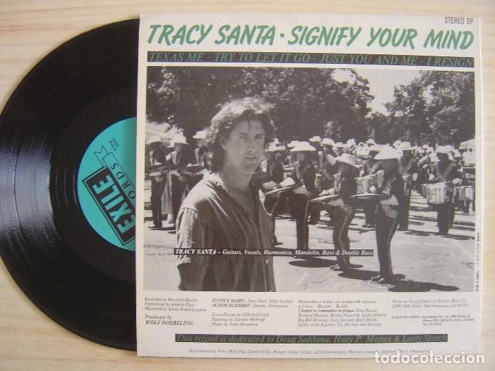 Discos de vinilo: Tracy Santa - Signify Your Mind - MAXI-SINGLE 45 - 10 PULGADAS - INGLES - Exile Records - Foto 3 - 136605198