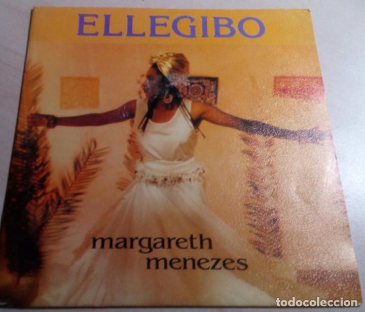 MARGARETH MENEZES.ELLEGIBO.1992. (Música - Discos de Vinilo - Singles - Pop - Rock Extranjero de los 80)