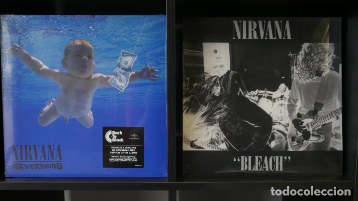 LOTE NIRVANA BLEACH + NEVERMIND VINILOS GRUNGE (Música - Discos de Vinilo - EPs - Pop - Rock Extranjero de los 90 a la actualidad)