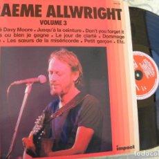Discos de vinilo: GRAEME ALLWRIGHT VOL. 3 - LP -BUEN ESTADO. Lote 136623354