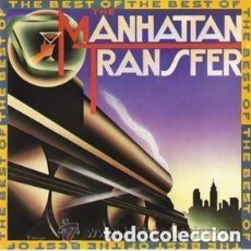 Discos de vinilo: THE BEST OF THE MANHATTAN TRANSFER - LP SPAIN 1981. Lote 136638990