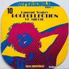 Discos de vinilo: LAURENT VOULZY - ROCKOLLECTION + LE MIROIR MAXI SINGLE RCA 1977. Lote 136654986