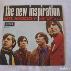 Discos de vinilo: THE NEW INSPIRATION - MR. MOODY. Lote 136671926