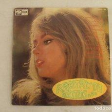 Discos de vinilo: RECITAL DE ÉXITOS Nº10, VARIOS ARTISTAS, LP EDICIÓN ESPAÑOLA 1968 EMI, LA VOZ DE SU AMO.. Lote 136676790