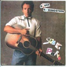 Discos de vinilo: BRUCE SPRINGSTEEN / SPARE PARTS (SINGLE PROMO 1988) SOLO CARA A. Lote 136679826