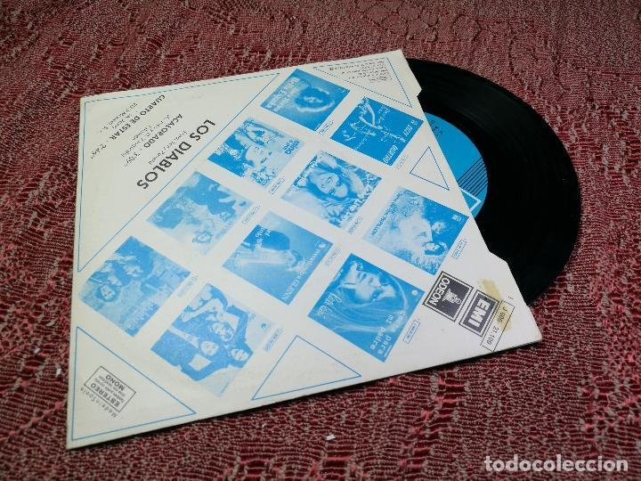 Discos de vinilo: DIABLOS - ACALORADO / CUARTO DE ESTAR - SINGLE EMI 1974 - Foto 2 - 136680038