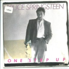 Discos de vinilo: BRUCE SPRINGSTEEN / ONE STEP UP (SINGLE PROMO 1987) SOLO CARA A. Lote 136682354