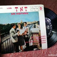Discos de vinilo: LOS T.N.T. / QUE TENGAS SUERTE + 3 (EP 1962). Lote 136683722
