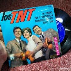 Discos de vinilo: LOS TNT ··· MI TIMIDEZ / PAN Y MANTEQUILLA / DEMASIADO CONTROL / SALLY ANNE - (EP 45 RPM) T.N.T. Lote 136684298