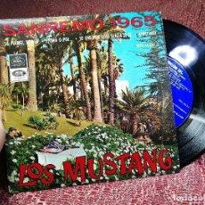 Discos de vinilo: LOS MUSTANG DISCO EP SANREMO 1965 EMI . Lote 136690658