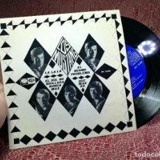 Discos de vinilo: LOS MUSTANG EP EMI REGAL 1966 LA LA LA/ EL SOL NO BRILLARA/ EL MISMO PROBLEMA/ QUE MAS DA. Lote 136691106