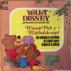Discos de vinilo: WALT DISNEY WINNIE PUH DISCO MAS CUENTO EDIC ESPAÑA VG++. Lote 136691846