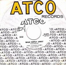 Discos de vinilo: THE STARGLOWS - LET'S BE LOVER + WALK SOFTLY AWAY SINGLE SIN PORTADA USA RARO. Lote 136693174