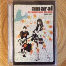 Discos de vinilo: DVD AMARAL EL COMIENZO DEL BIG BANG GIRA 2005. Lote 136697294