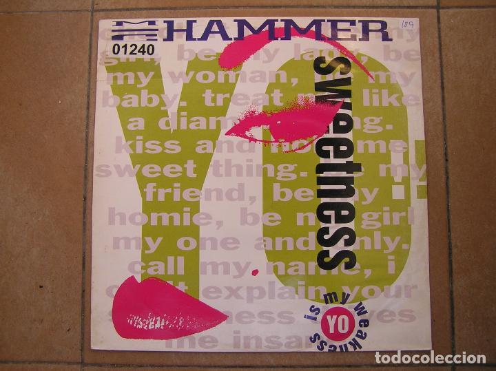 M. C. HAMMER – YO!! SWEETNESS - CAPITOL RECORDS 1991 - MAXI - PLS (Música - Discos de Vinilo - Maxi Singles - Rap / Hip Hop)