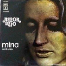 Discos de vinilo: MINA, AMOR MÍO. CANTA EN ESPAÑOL. LP ORIGINAL ESPAÑA. Lote 136702330
