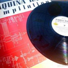 Discos de vinilo: MAQUINA RAVE COMPILATION / LP / MAX MUSIC / 1991 / BUEN ESTADO. Lote 136705006